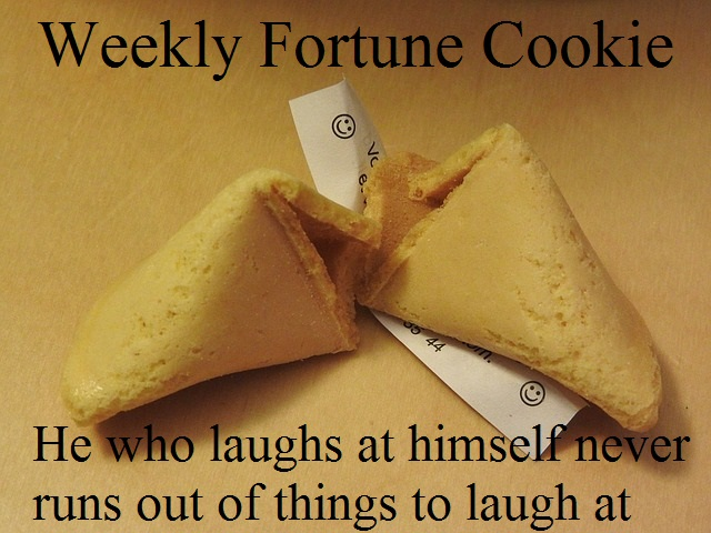 Fortune Cookie - Laugh at Yourself